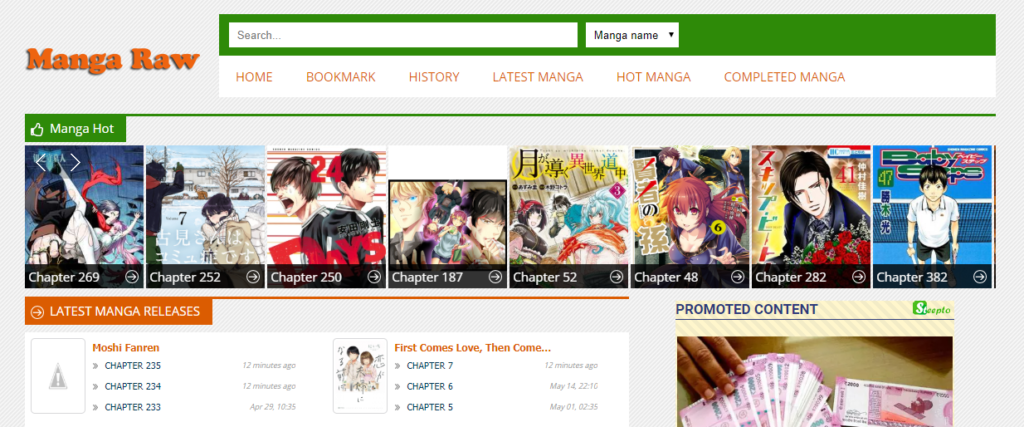 Mangaraw Best Manga Sites