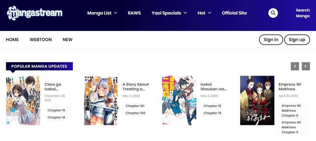 Mangastream Best Manga Sites