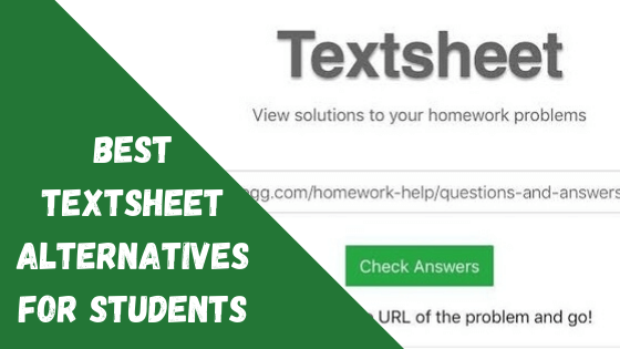 Best Textsheet Alternatives For Students
