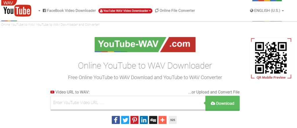 Youtube-wav converter - Convert YouTube To WAV