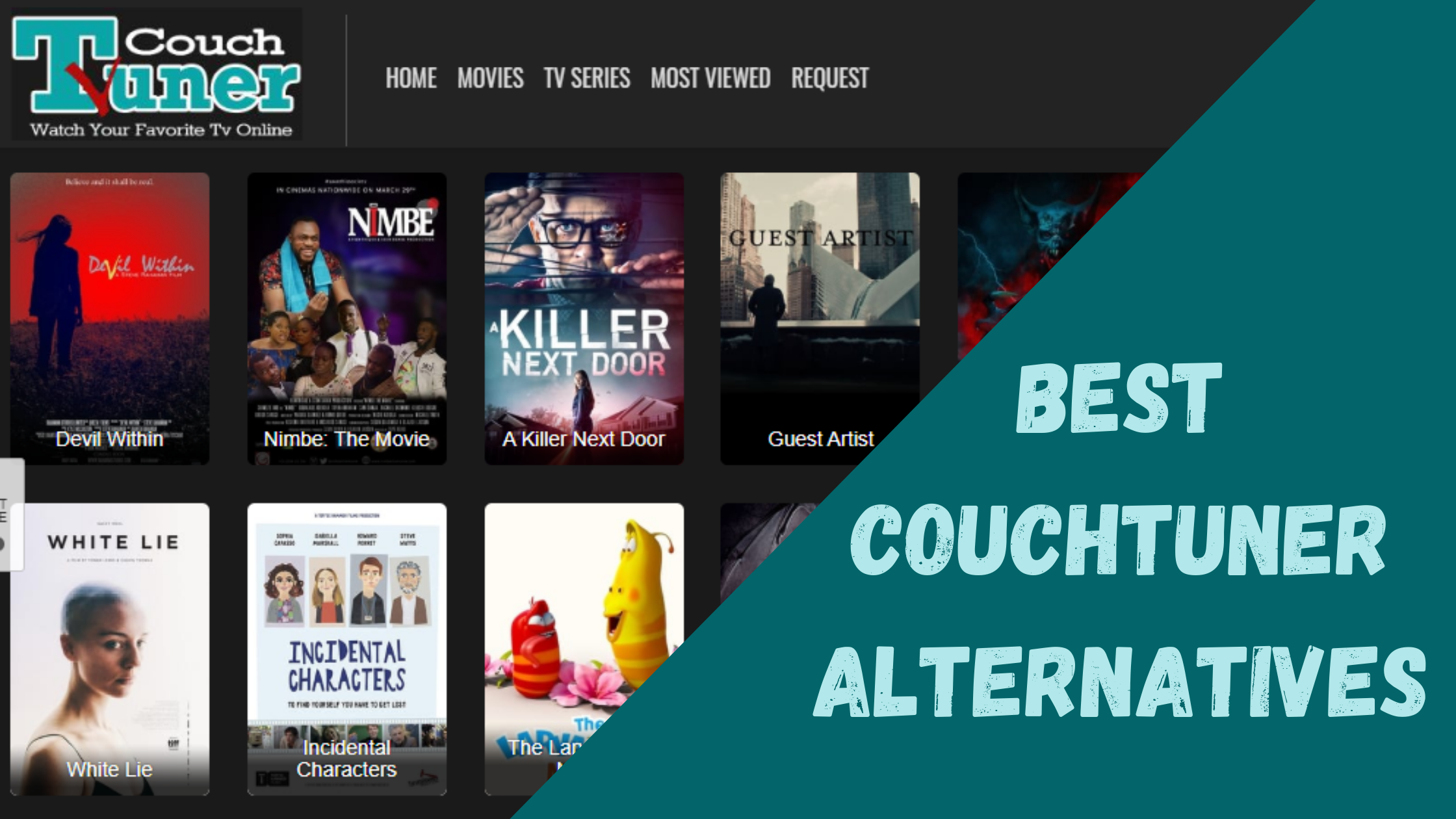 Best Couchtuner Alternatives to Watch Movies Online