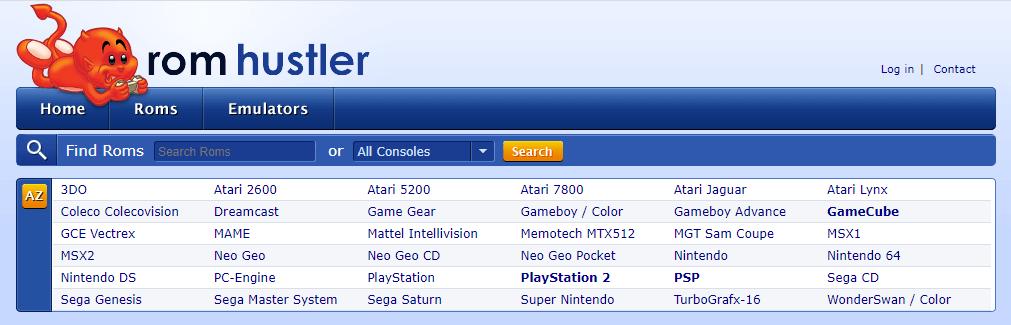 ROM Hustler website